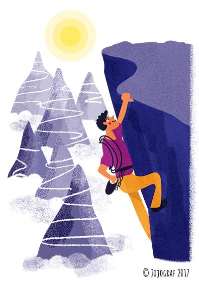 Redaktionell illustration, Chef 2017