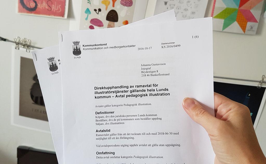 Avtal med Lunds kommun