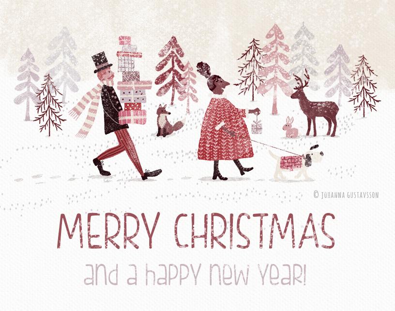 Julkort och God Jul!